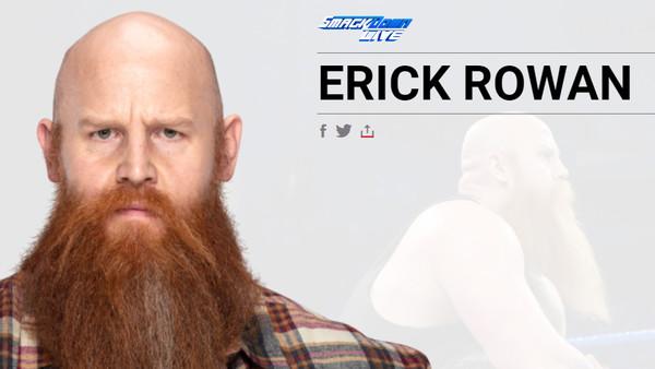 Erick Rowan profile page