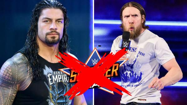 Daniel Bryan Roman Reigns Scrapped