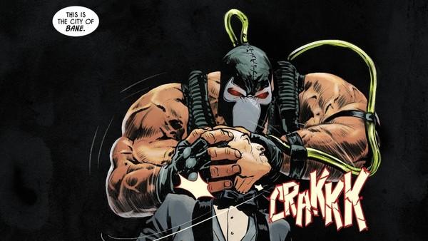 Bane Batman Alfred Pennyworth