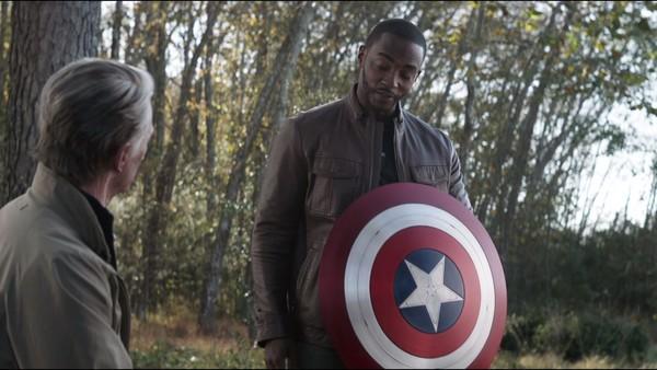 Avengers Endgame Sam Wilson Cap