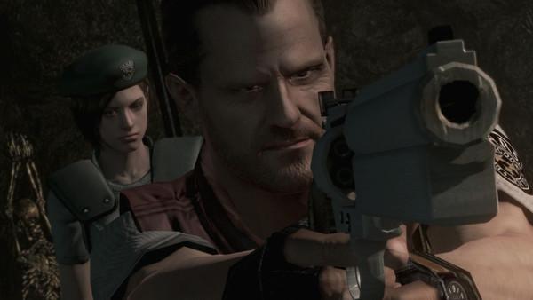 Resident Evil Barry Burton