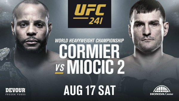 Watch UFC 241: Cormier Vs Miocic 2 8/17/19
