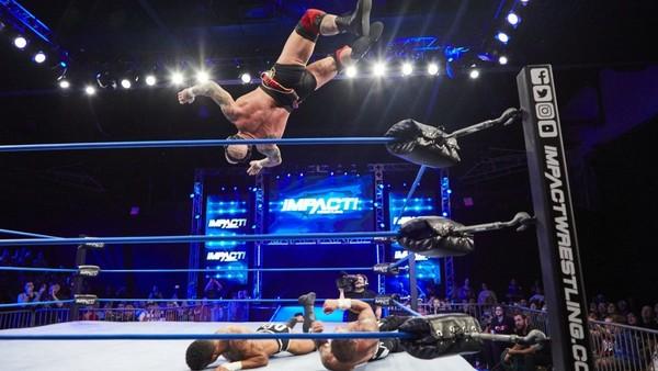 Josh Alexander Dezmond Xavier Impact Wrestling