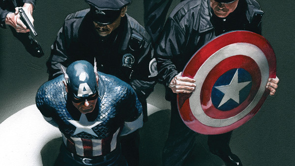 Captain America Arrested
