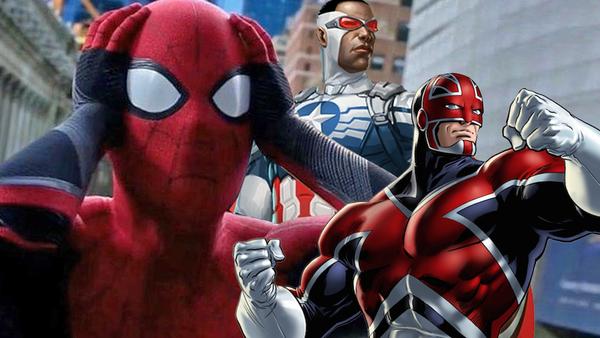 Spider-Man Far From Home Captain America Captain Britain