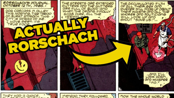 Watchmen First Page