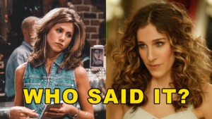 Friends Or Sex And The City Quiz: Who Said It - Rachel Green Or Carrie Bradshaw? 					 					 					 					 					 											Community