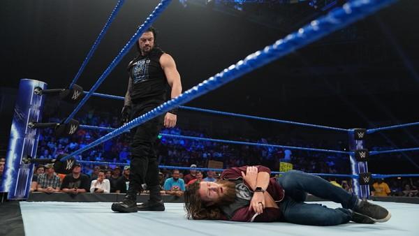 Roman Reigns Daniel Bryan SmackDown