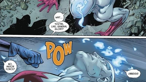 Captain Atom Gotham Girl