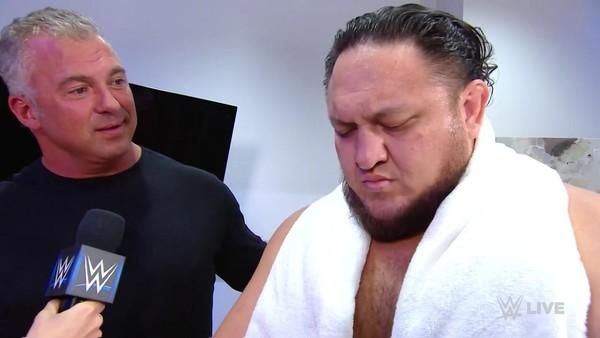 Shane McMahon Samoa Joe