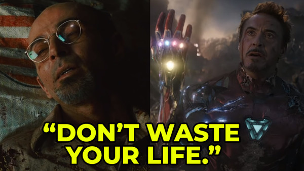 Iron Man Yinsen Avengers Endgame Tony Stark