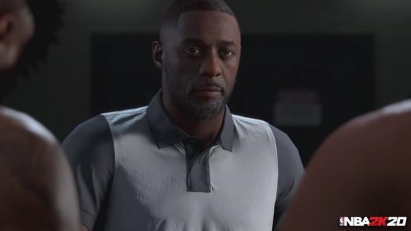Idris Elba NBA 2K20