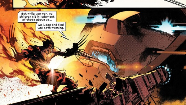 House of X 4 Wolverine Death