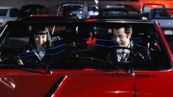 Pulp Fiction John Travolta Uma Thurman