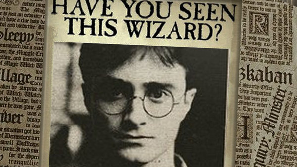 Harry Potter Mugshot
