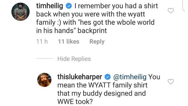 Luke Harper Instagram