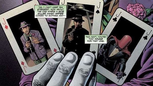 Joker Past Multiple Choice