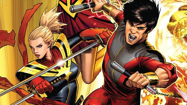 Captain Marvel Shang-Chi