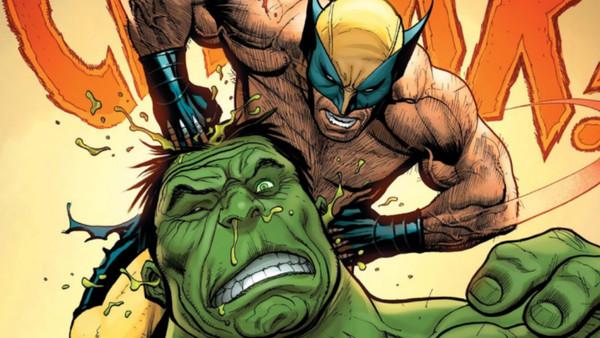 Wolverine Kills Hulk