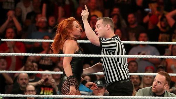 Becky Lynch Referee