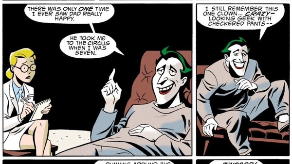 Mad Love Joker Origin