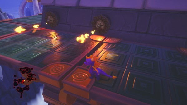 Spyro Reignited Trilogy Switch Cloud Spires Fire Particles