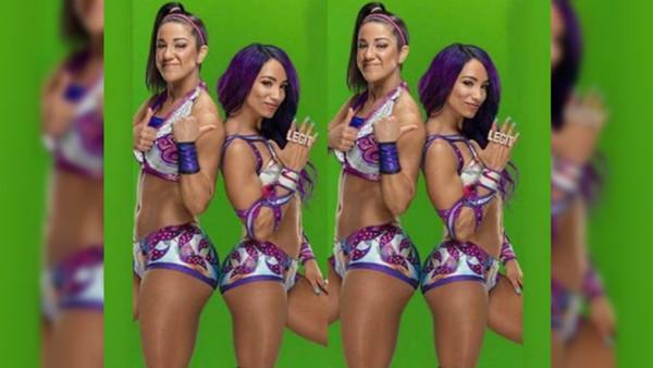 Sasha Banks Teasing Bayley's New WWE Attire?