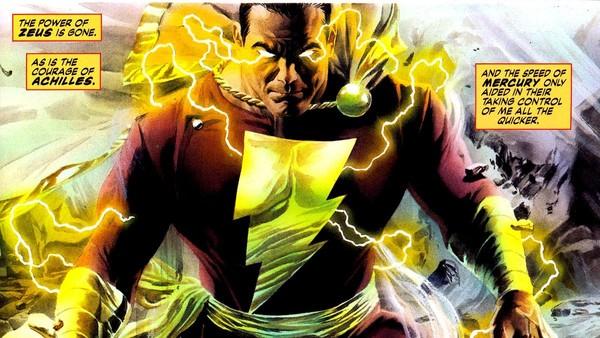 Kingdom Come Captain Marvel Shazam