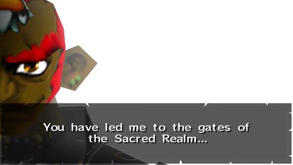 Ganondorf steals credit