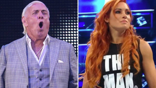 Ric Flair Becky Lynch