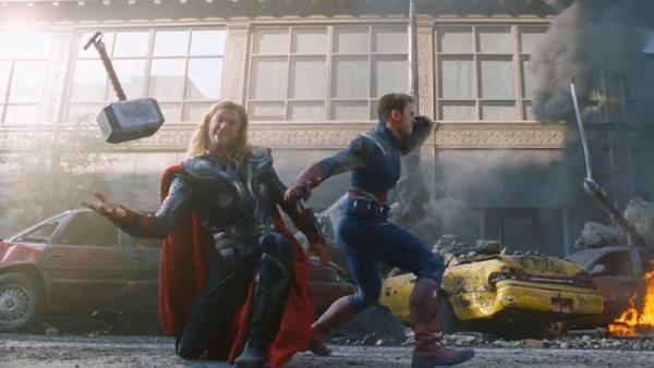 The Avengers Thor Captain America