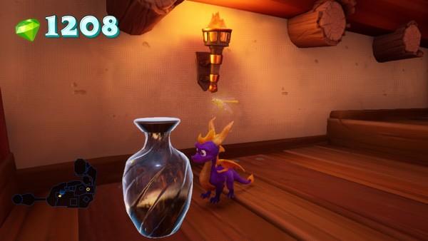 Spyro Reignited Shading Vase