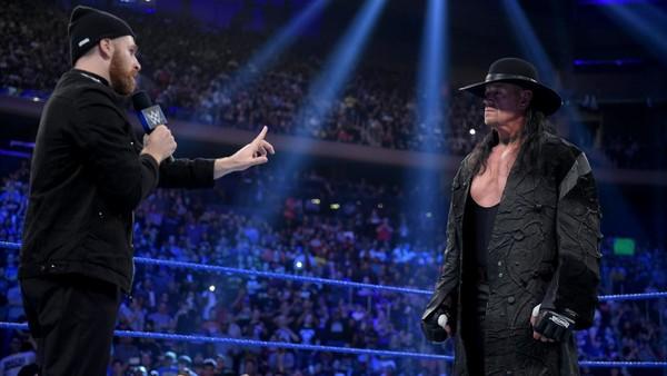 Sami Zayn The Undertaker