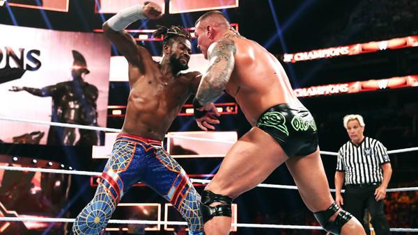 WWE Clash of Champions 2019 Kofi Kingston Randy Orton