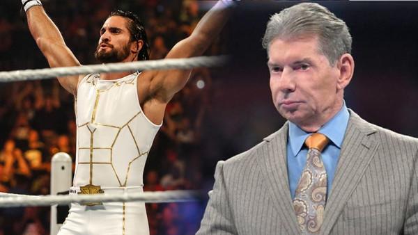 Seth Rollins Vince McMahon white