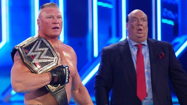 Brock Lesnar Paul Heyman SmackDown