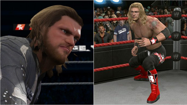 Edge WWE Video Game