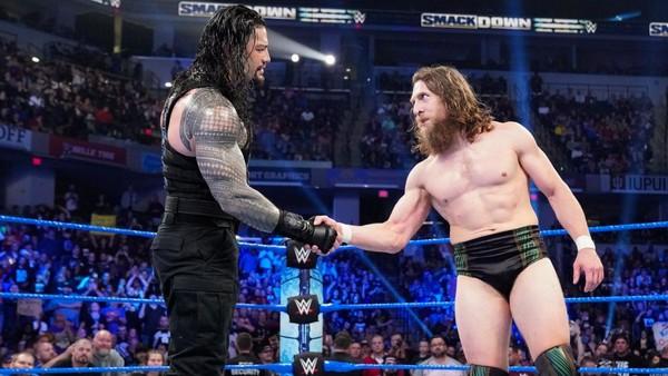 Roman Reigns Daniel Bryan