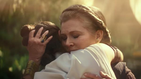 Star Wars The Rise Of Skywalker Leia Rey