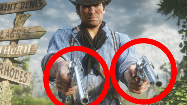 Red Dead Redemption Dual Wield