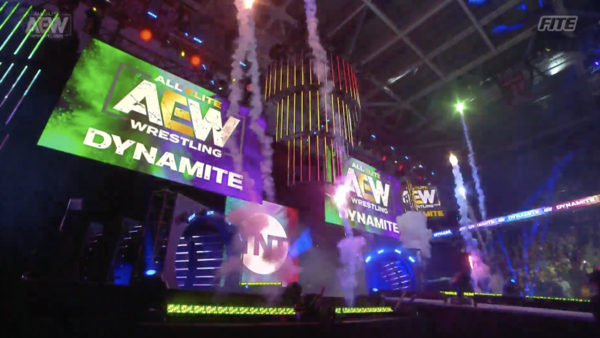 AEW stage