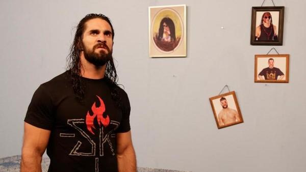 Seth Rollins miffed