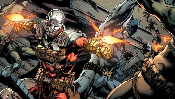 Deadshot Batman DC Rebirth