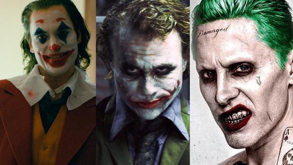 The Joker Joaquin Phoenix The Dark Knight Heath Ledger Suicide Squad Jared Leto