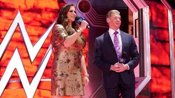 Stephanie McMahon Vince McMahon