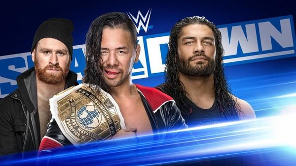 WWE SmackDown Shinsuke Nakamura vs. Roman Reigns