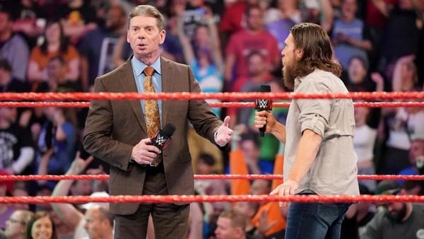 Vince McMahon Daniel Bryan