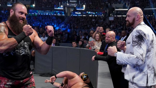 Braun Strowman Tyson Fury