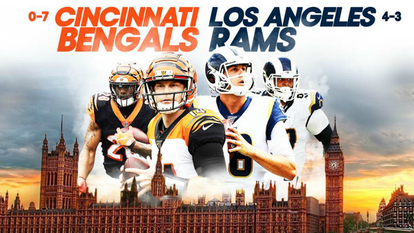NFL Bengals Rams UK