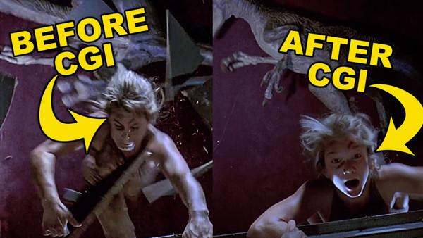 Jurassic Park Stunt Double